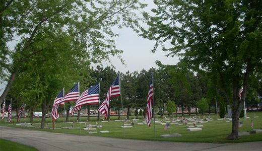 Veterans Avenue of Flags