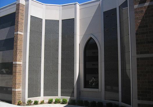 outdoor columbarium niche