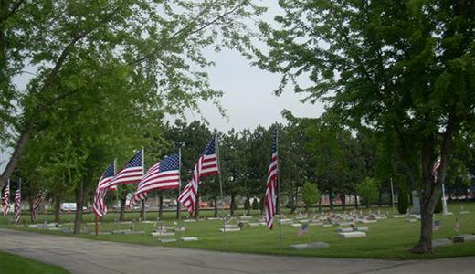 Veterans Avenue of Flags