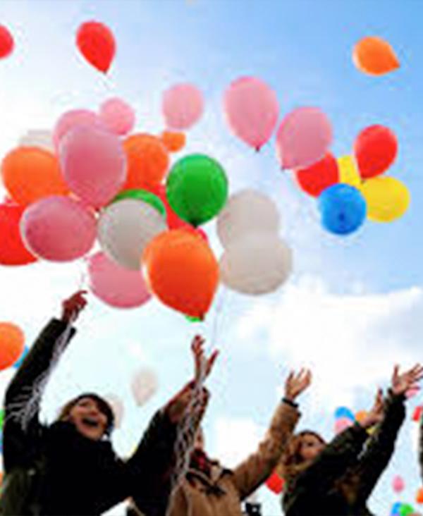 balloon release memorial
