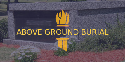 fort howard memorial park above ground burial options