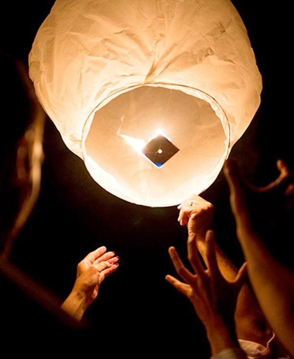 lantern release memorial